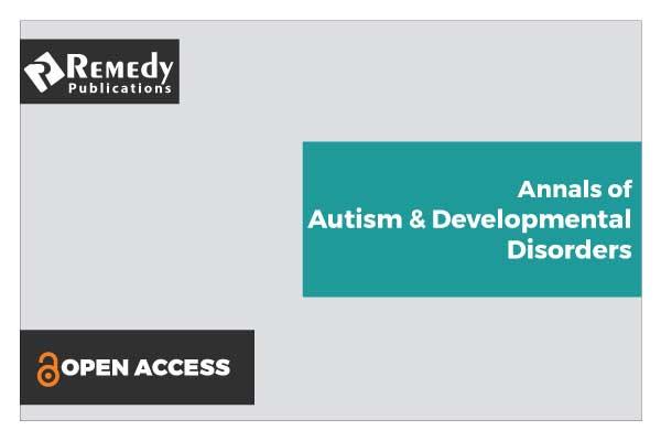 Annals of Autism & Developmental Disorders