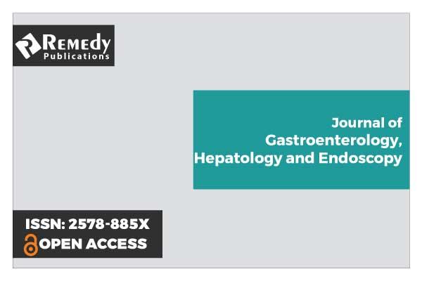 Journal of Gastroenterology, Hepatology and Endoscopy